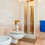 B&B Caldara Cortina: bagno camera doppia