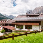 bed and breakfast Caldara: vista su Cortina d'Ampezzo